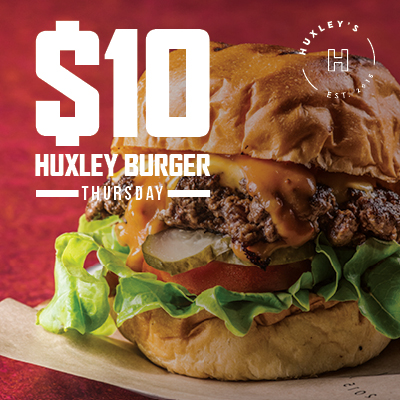 $10 Huxley Burger